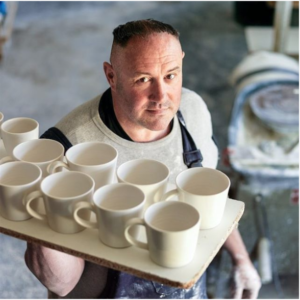 MK Design Christmas workshop Pottery keith brymer jones