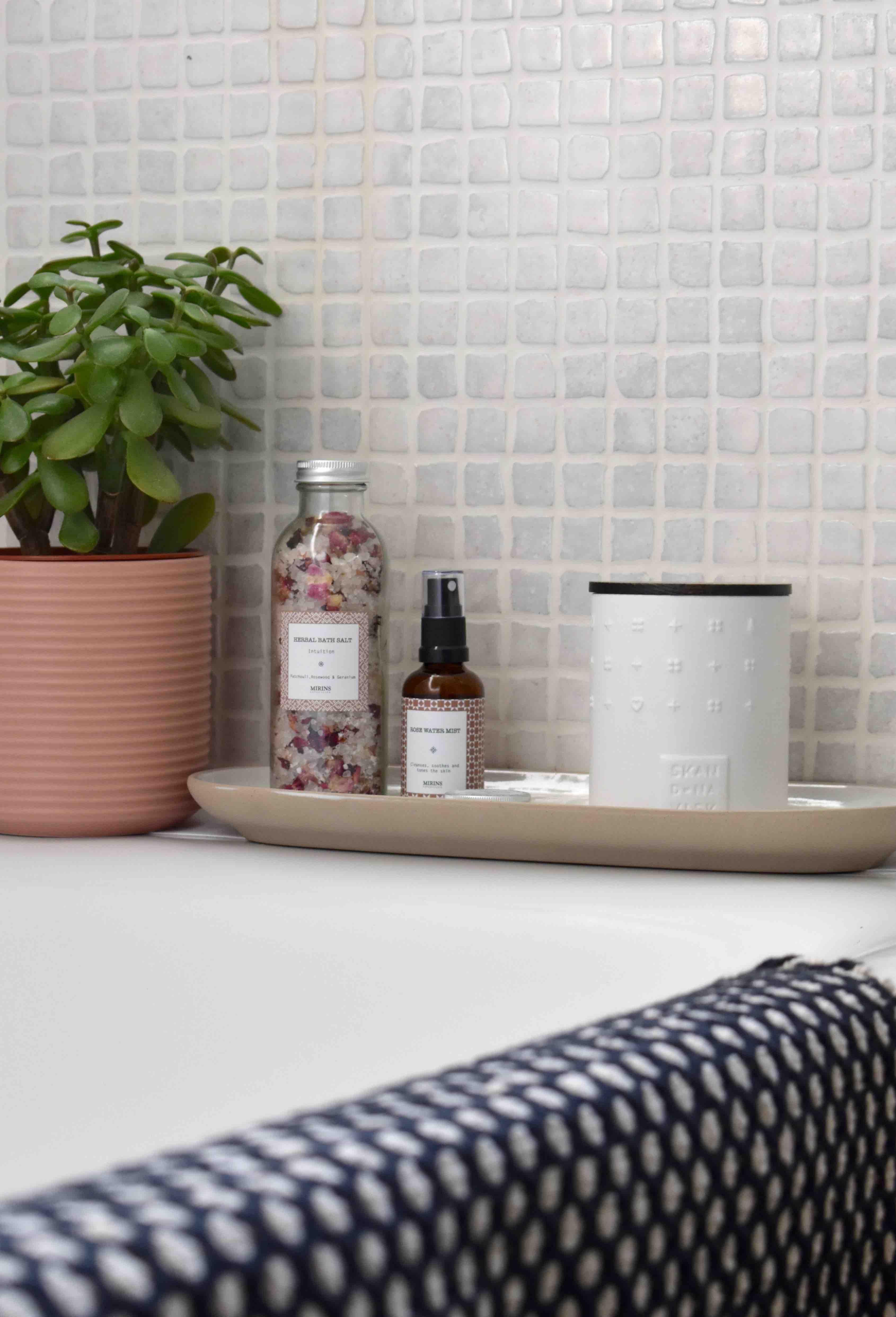 Mk Design London » Bathroom beauty corner