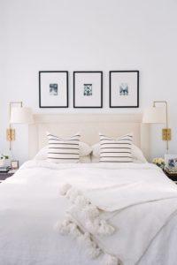 Bedroom Feng shui symmetry idea