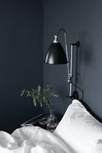 Bedroom feng shui blue