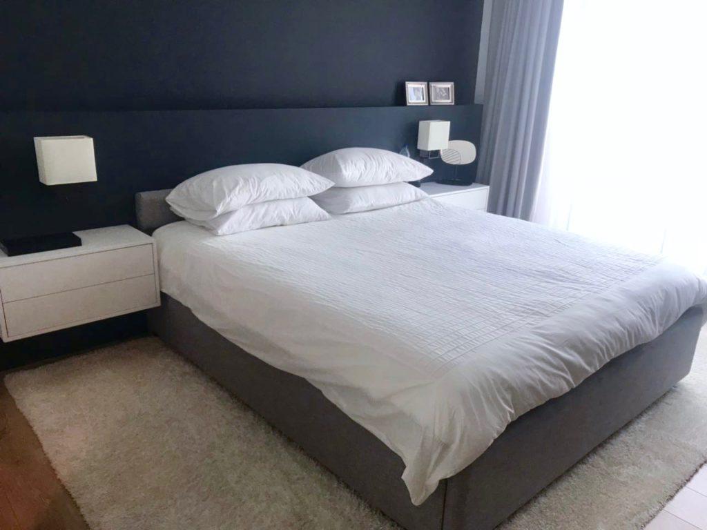 MK Design Blue bedroom Feng shui
