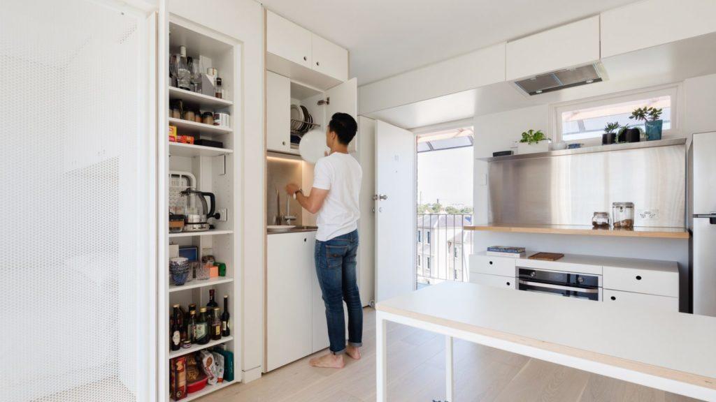 small space Nicholas Gurney Sydney Apartement