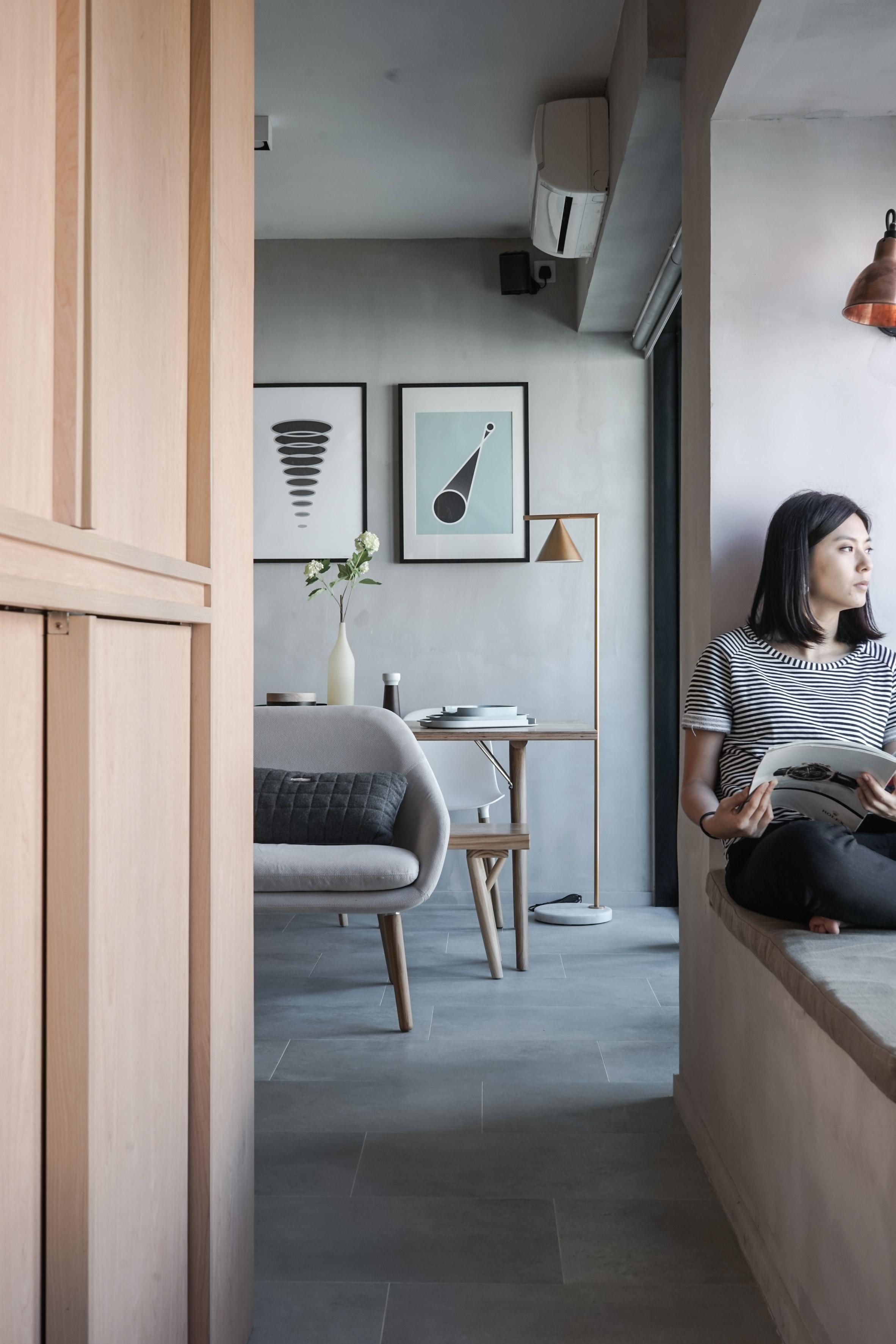 small space interiors studio jaak apartment in hong kong - Small Space Interiors