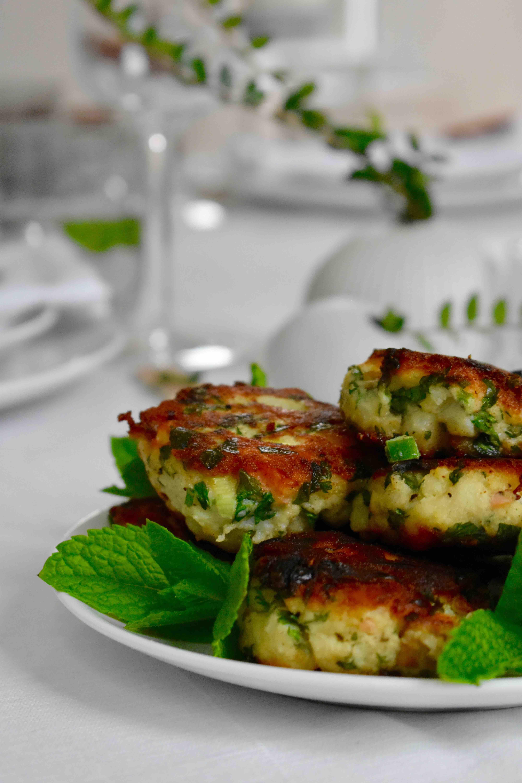 Summer Dinner Party fishcakes