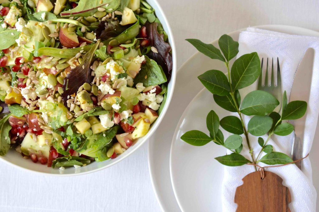 Summer Dinner Party salad