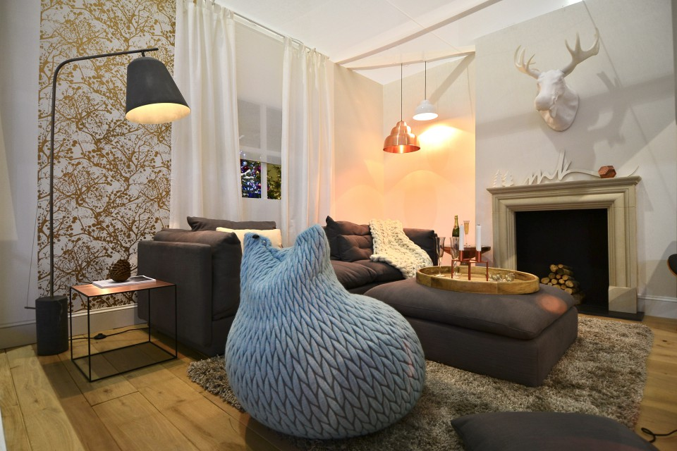 Lumiere Ideal Home show at Christmas