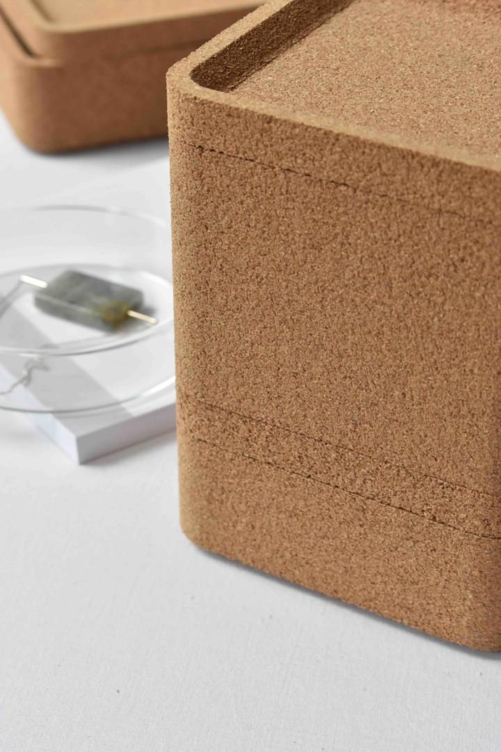 Trove Cork Boxes by David Irwin